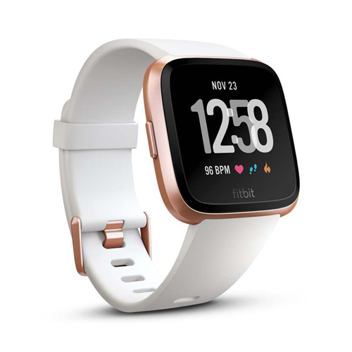 Fitbit versa White/Rose Gold