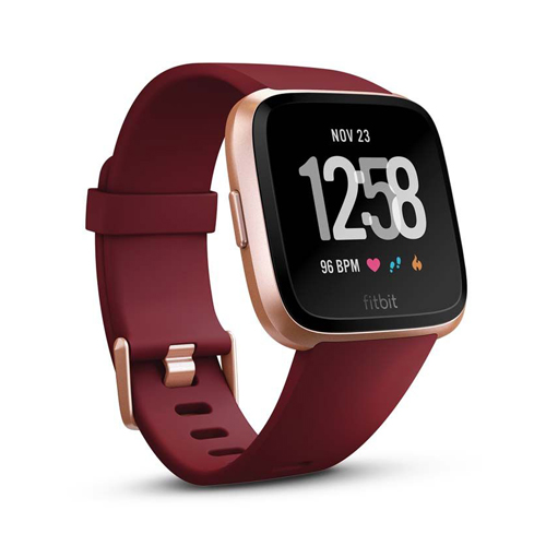 Fitbit versa Ruby/Rose Gold