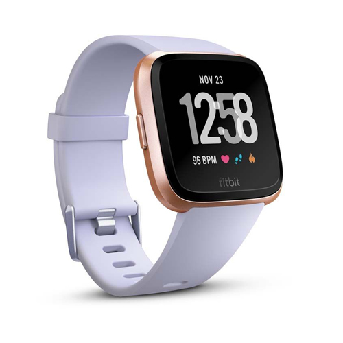 Fitbit versa Periwinkle/Rose Gold