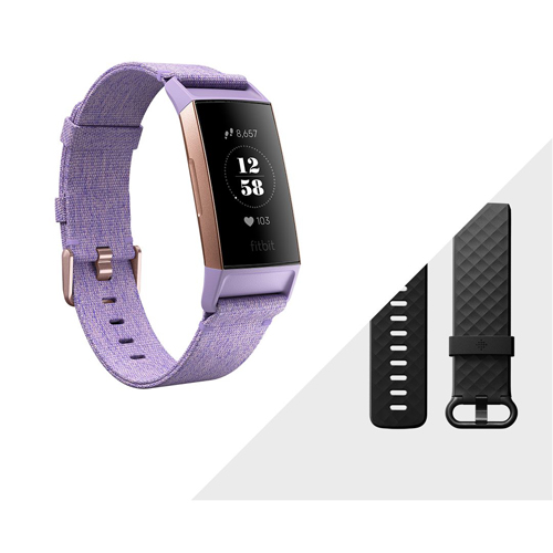 Fitbit charge 3 Lavender Woven/Rose Gold Special Edition