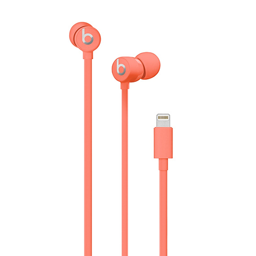 Beats urBeats3 Earphones w/Lightning Connect. Coral