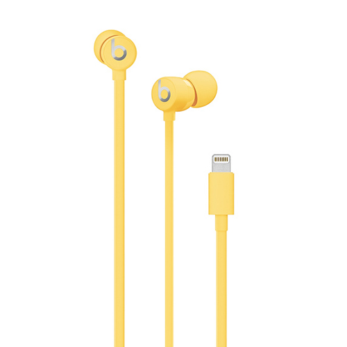 Beats urBeats3 Earphones w/Lightning Connect. Yellow