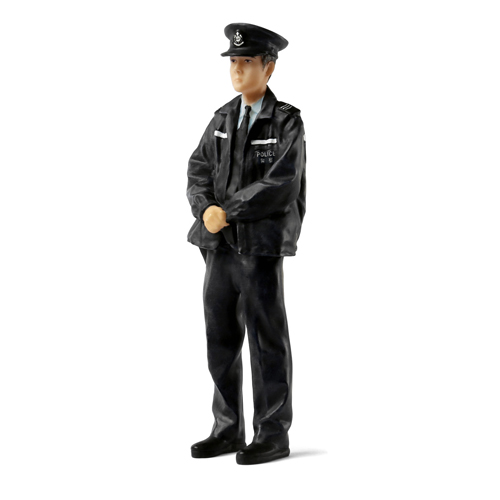 Tiny微影 樹脂公仔 02 巡邏警員[冬天][1:18]