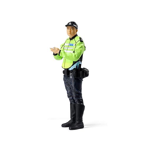 Tiny微影 樹脂公仔 16 帶帽交通警[1:18]
