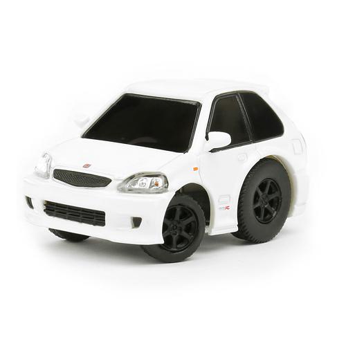 Tiny Q 本田Civic EK9 白色