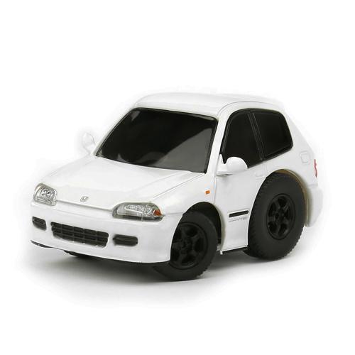 Tiny Q 本田Civic EG6 白色