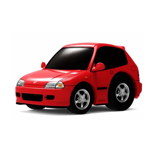 Tiny Q 本田Civic EG6 紅色