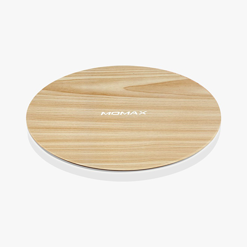 MOMAX Q.Pad Max 15W Ultra Slim 無線充電板 木紋
