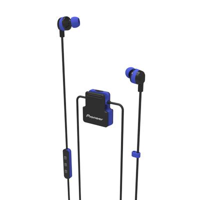Pioneer ClipWear Active 入耳式藍牙耳機 藍 SE-CL5BTL