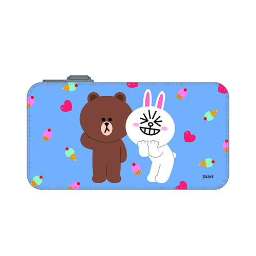 LINE 8000mAh PowerBank BROWN+CONY