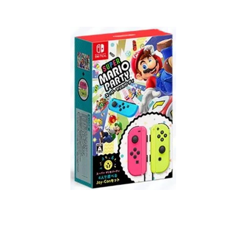 Nintendo JOY-CON組合/+超級瑪利歐派對碟 手掣+遊戲套裝