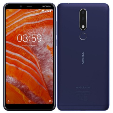 Nokia [D]Nokia 3.1 Plus 3GB+32GB 藍色