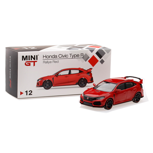 MINI GT Honda Civic Type R [Rallye Red]