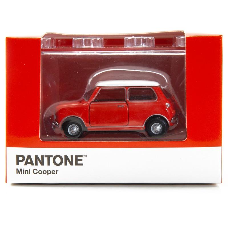Tiny微影 Mini Cooper X Pantone Red MK1 485C