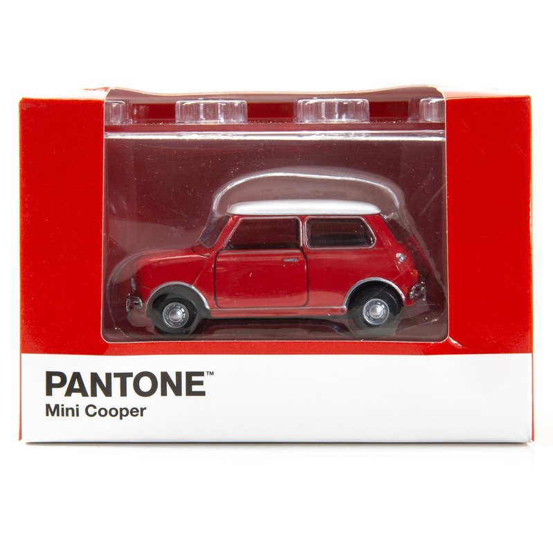 Tiny微影 Mini Cooper X Pantone Red MK1 199C