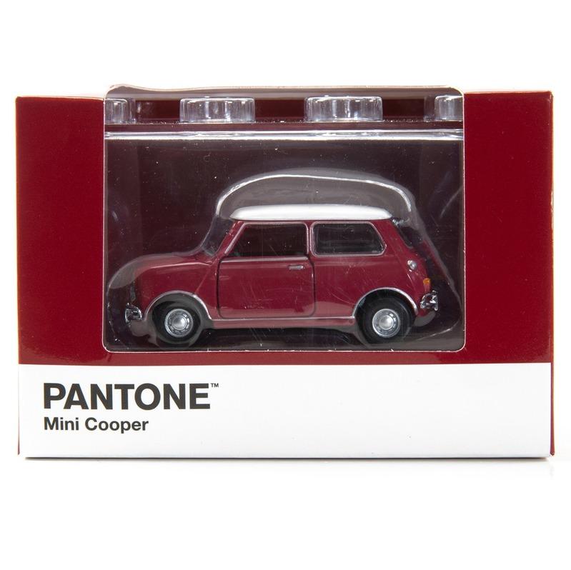 Tiny微影 Mini Cooper X Pantone Red MK1 208C