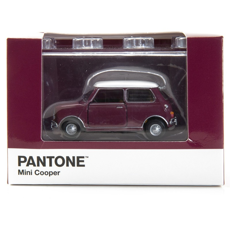 Tiny微影 Mini Cooper X Pantone Red MK1 229C