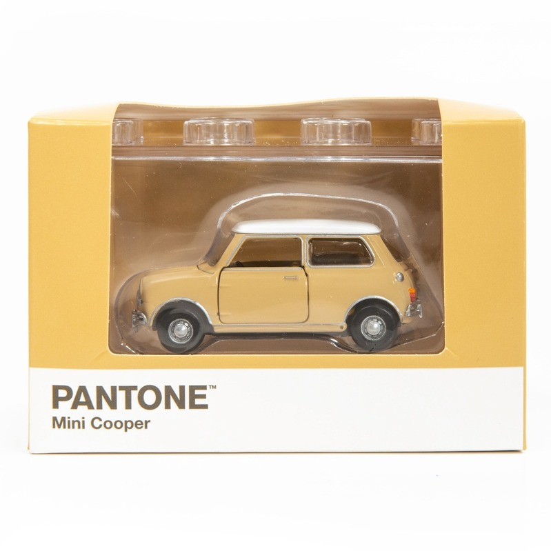 Tiny微影 Mini Cooper X Pantone Yellow MK1 726C