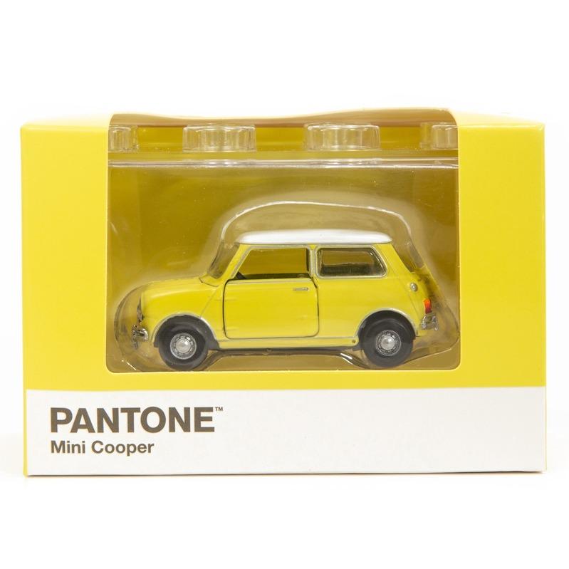Tiny微影 Mini Cooper X Pantone Yellow MK1 100C
