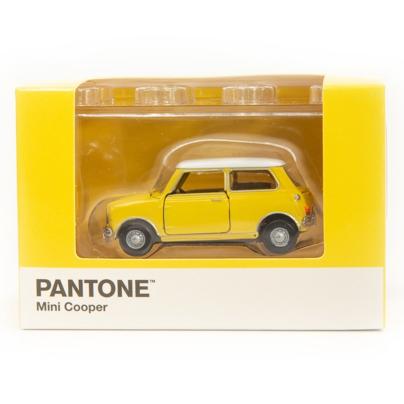 Tiny微影 Mini Cooper X Pantone Yellow MK1 1215C