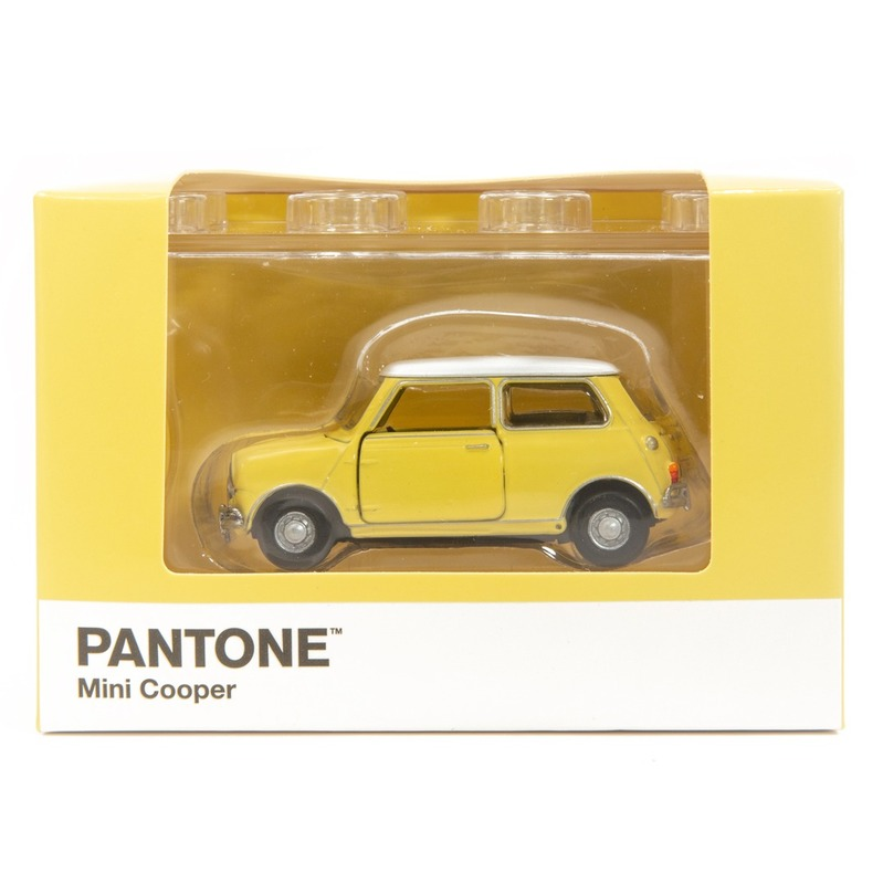 Tiny微影 Mini Cooper X Pantone Yellow MK1 1205C