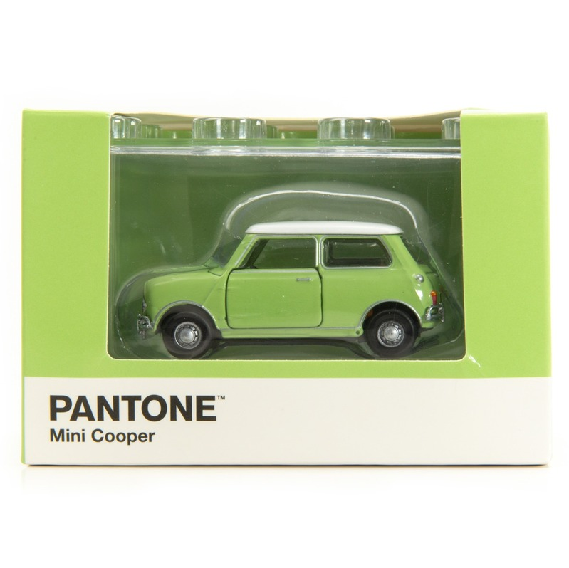 Tiny微影 Mini Cooper X Pantone Green MK1 577C