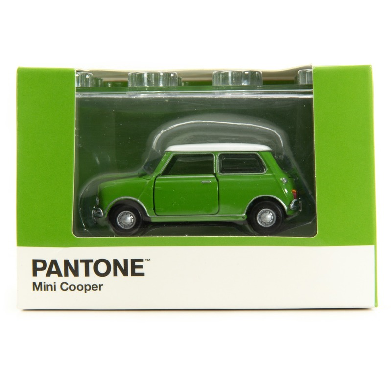 Tiny微影 Mini Cooper X Pantone Green MK1 576C
