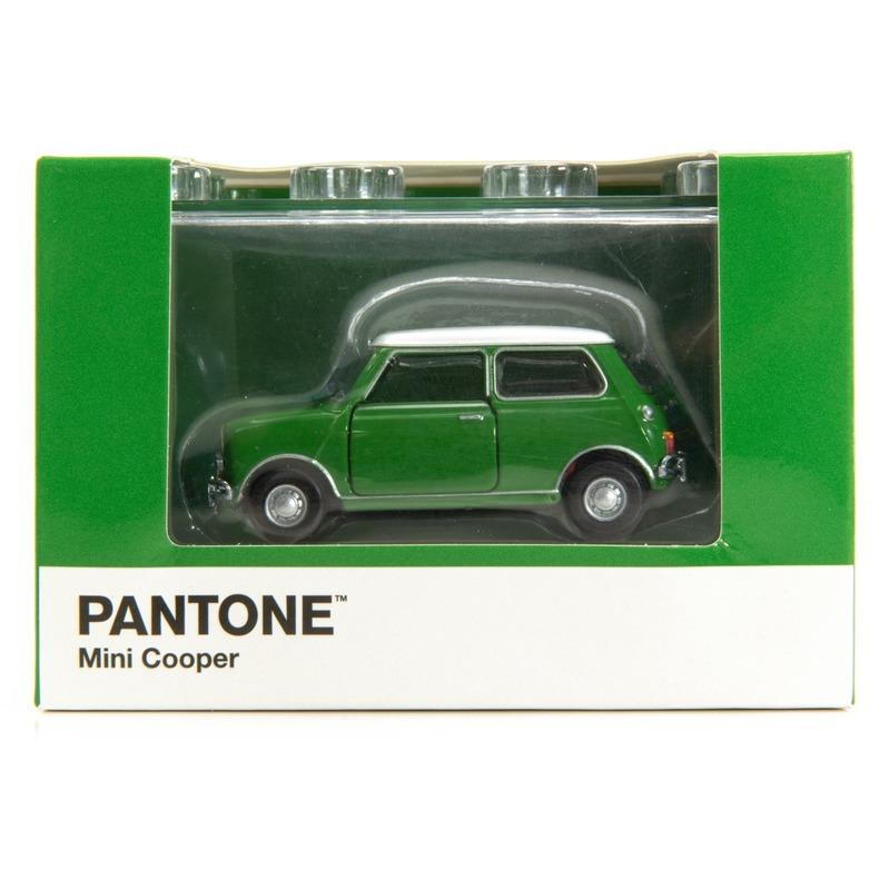 Tiny微影 Mini Cooper X Pantone Green MK1 364C