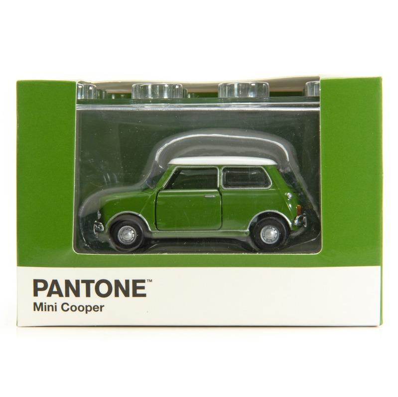 Tiny微影 Mini Cooper X Pantone Green MK1 371C