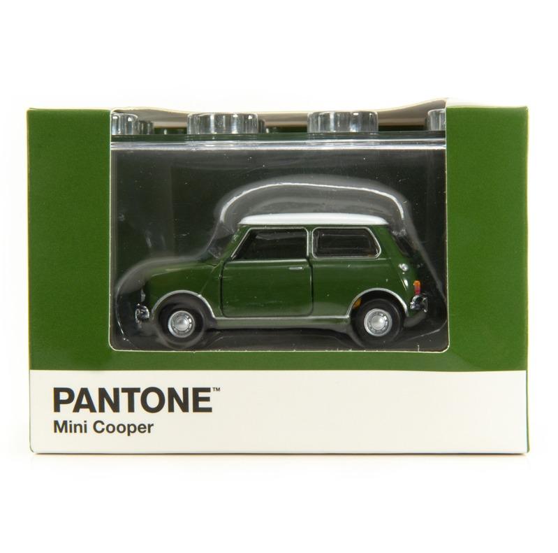 Tiny微影 Mini Cooper X Pantone Green MK1 574C