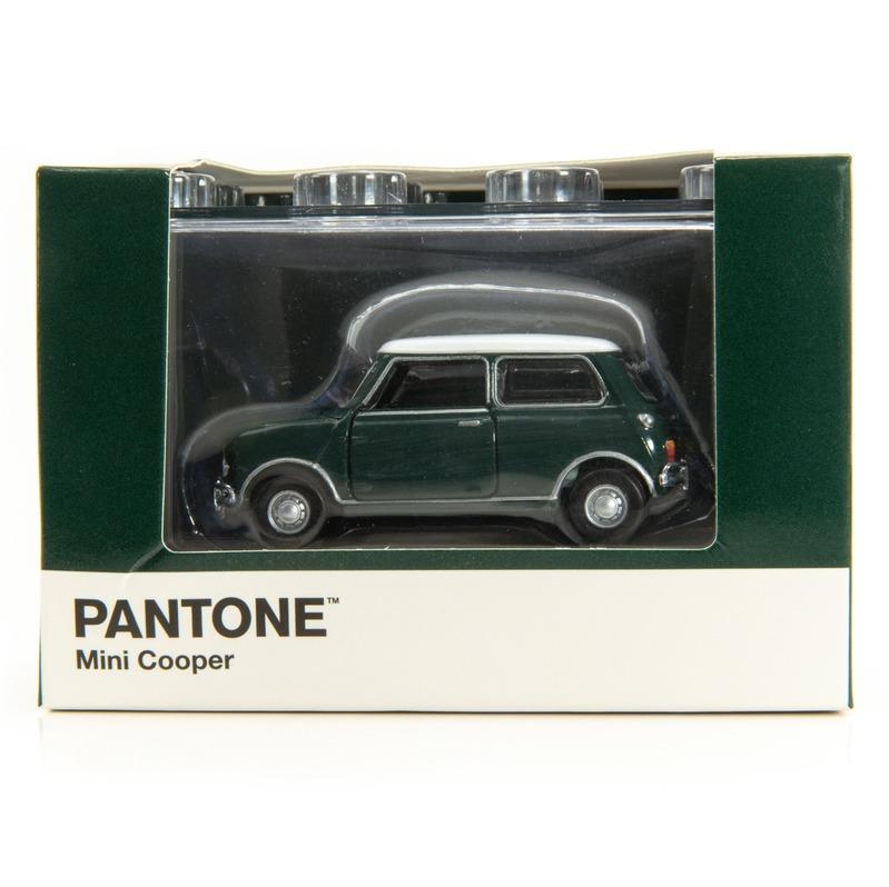Tiny微影 Mini Cooper X Pantone Green MK1 560C