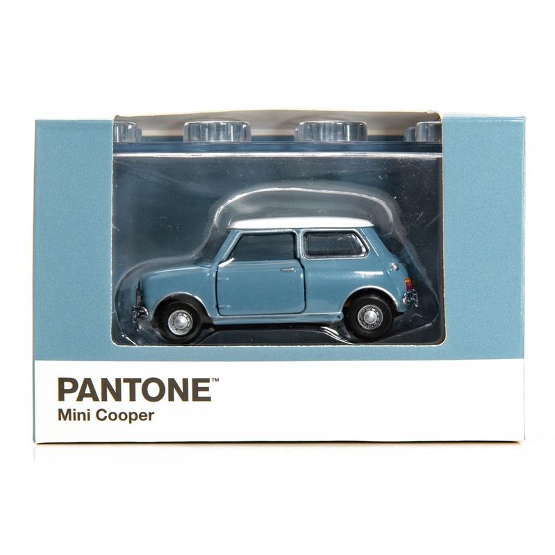 Tiny微影 Mini Cooper X Pantone Blue MK1 5425C