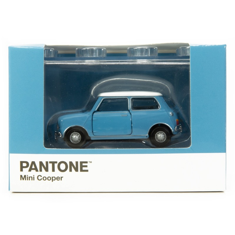 Tiny微影 Mini Cooper X Pantone Blue MK1 542C