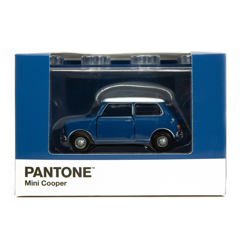 Tiny微影 Mini Cooper X Pantone Blue MK1 653C