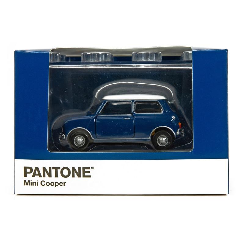 Tiny微影 Mini Cooper X Pantone Blue MK1 541C