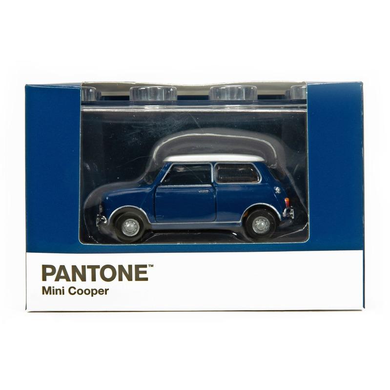 Tiny微影 Mini Cooper X Pantone Blue MK1 540C