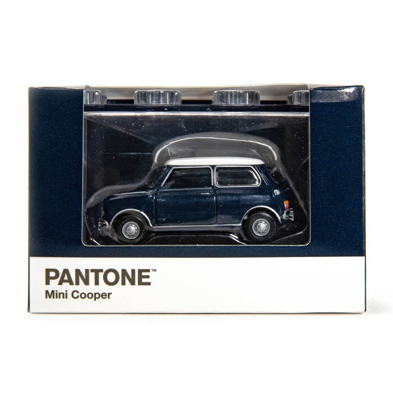 Tiny微影 Mini Cooper X Pantone Blue MK1 539C