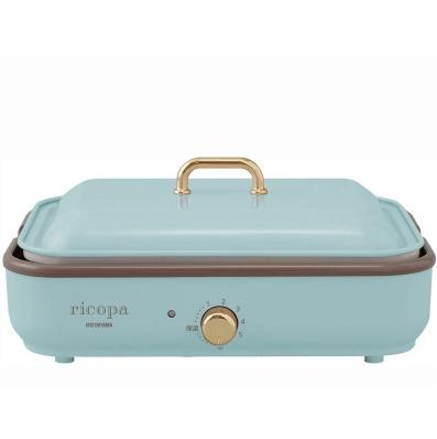IRISOHYAMA RICOPA多功能烤盤 MHP-R102粉藍