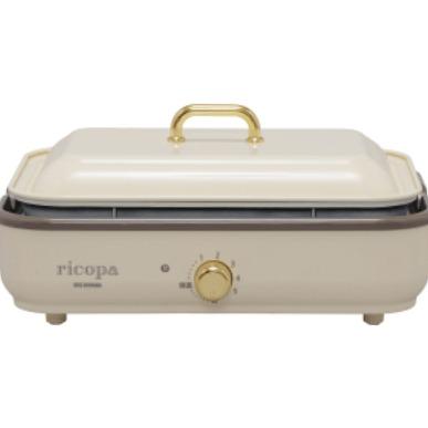 IRISOHYAMA RICOPA多功能烤盤 MHP-R102白
