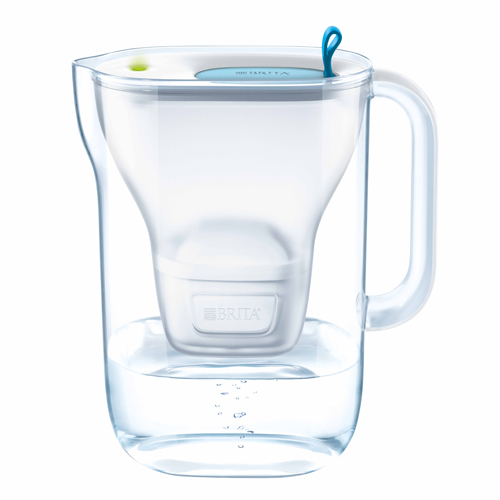 BRITA STYLE MX+智能型濾水壺 2.4L 藍色