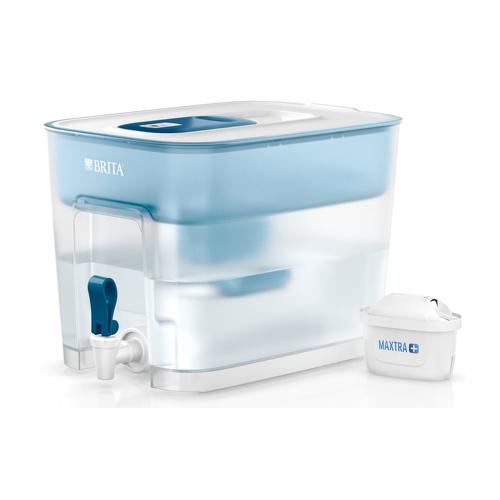 BRITA FLOW MX+濾水箱 8.2L 藍色