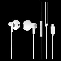 MI 小米雙單元半入耳式耳機Type-C版 白色