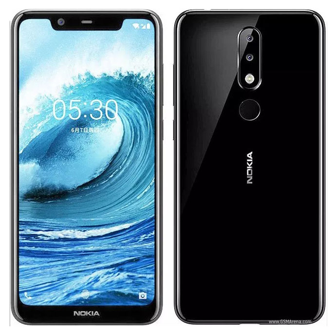 Nokia Nokia 5.1 Plus 3GB+32GB 黑色
