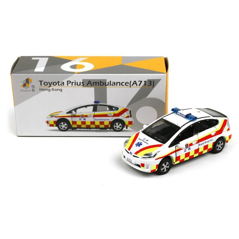 Tiny微影 16 豐田Prius 救護車 A713