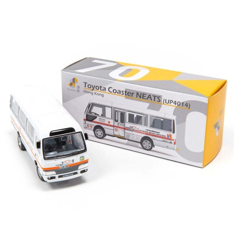 Tiny微影 70 豐田Coaster 非緊急救護運送車