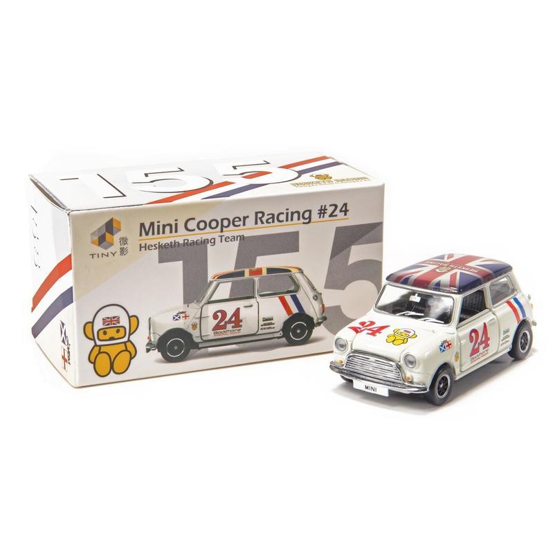 Tiny微影 155 Mini Cooper Racing #24 [右駕]