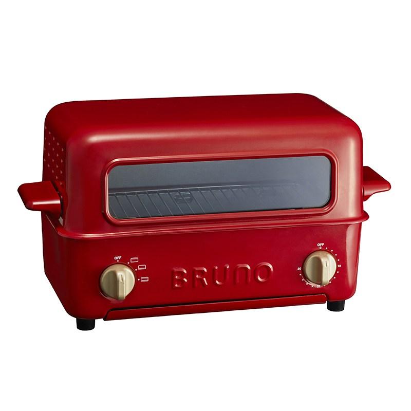 BRUNO 揭蓋式燒烤焗爐 BOE033-RD紅