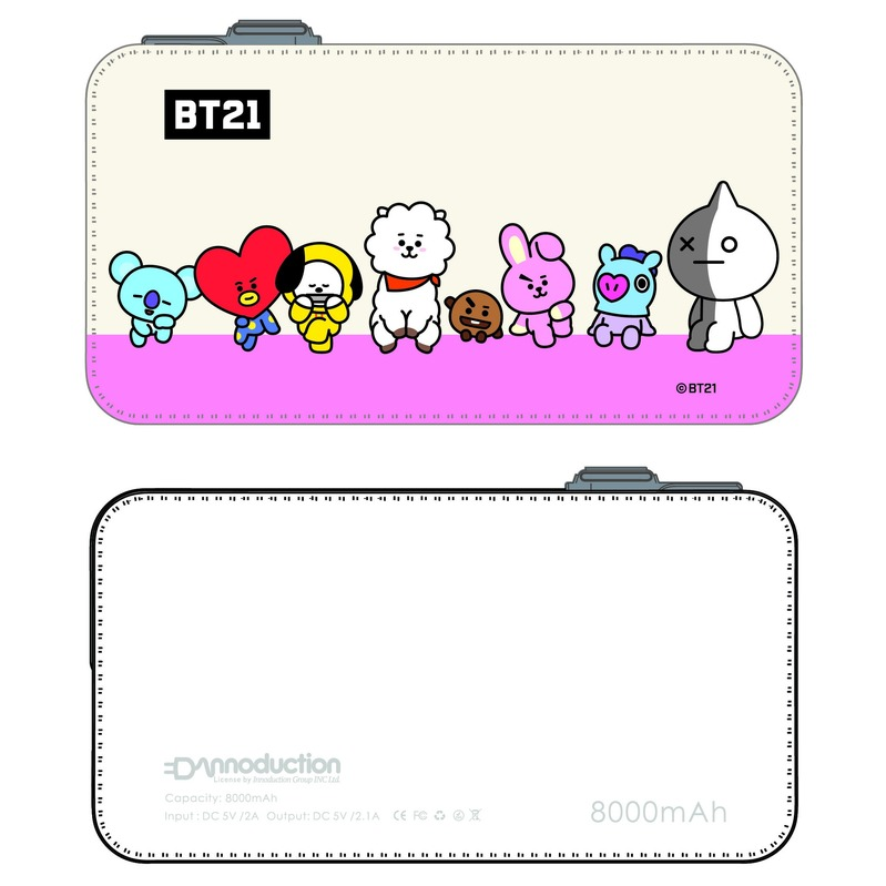LINE 8000mAh PowerBank BT21 [2]