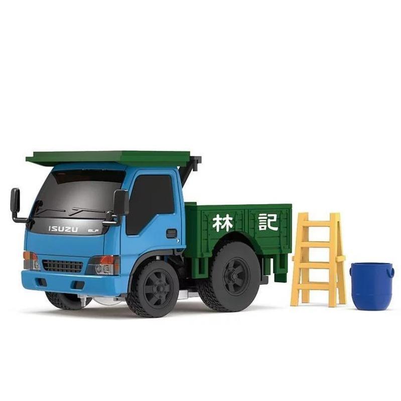 Tiny Q 五十鈴N系列 1993街斗車[藍+綠]