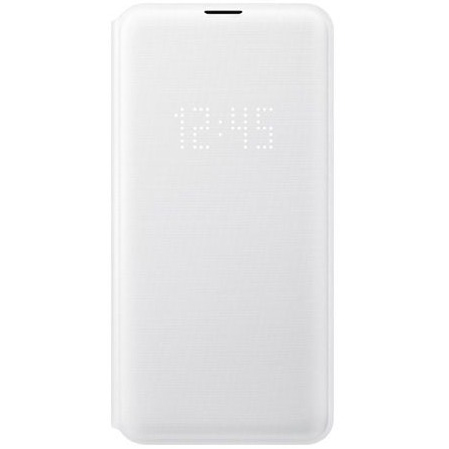 Samsung S10e LED翻頁式皮套 white